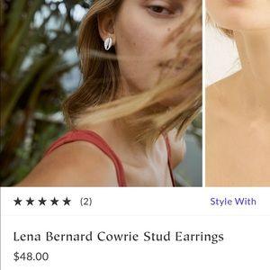 NWTA Free People Shell Earrings